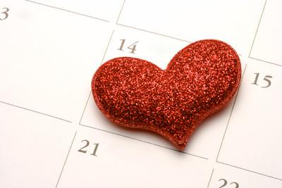 Heart on a Calendar