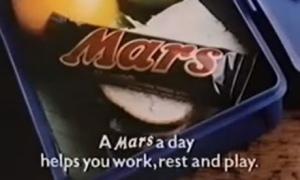 Mars advert